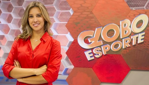 No Globo Esporte, Cris Dias vai substituir Tiago Leifert e mostrará matérias que valorizam modalidades femininas (Foto: Globo)
