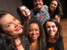 Flávia Monteiro reencontra colegas de 'Chiquititas': 'Emocionada'