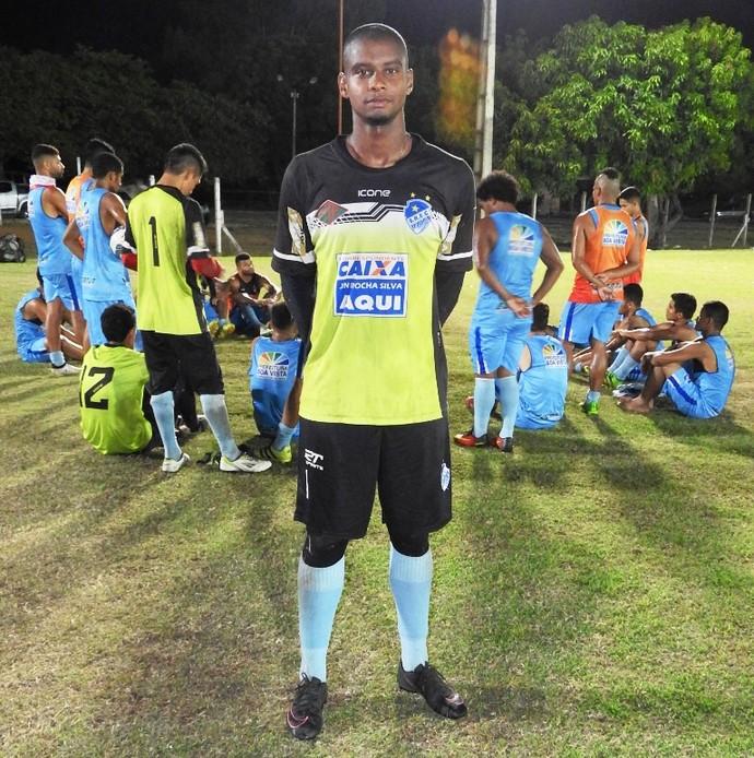Diego Cerqueira chega para Copa Verde e Roraimense; disputa pela vaga de titular em jogo (Foto: imagem/Tércio Neto)