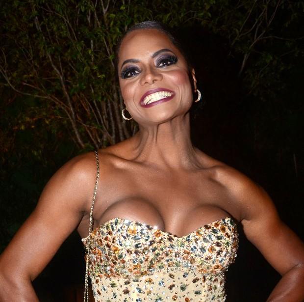 Adriana  Bombom (Foto: Eduardo Martins/AgNews)