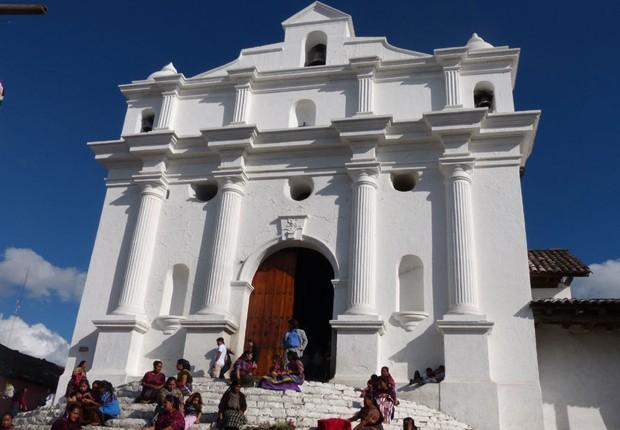 Beleza exótica da Guatemala vai estampar cenas de ação em Flor do Caribe (Foto: Flor do Caribe/TV Globo)