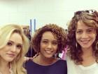 Leandra Leal, Taís Araújo e Isabelle Drummond posam juntas
