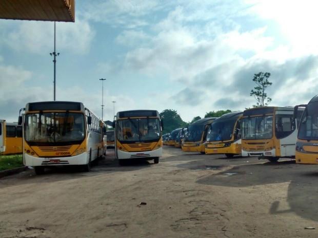 47 linhas da empresa Global atendem a Zona Leste da cidade (Foto: Suelen Gonçalves/G1 AM)