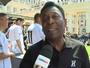 Pelé pede calma após goleada no  Haiti e diz ser preciso esquecer o 7 a 1