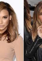 Naya Rivera aparece com novo visual e fica a cara de Kim Kardashian