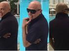 Marco Antônio de Biaggi festeja recuperação após luta contra câncer
