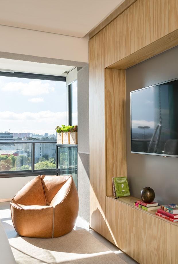 Estilo escandinavo inspira décor de apartamento pequeno em SP (Foto: Evelyn Müller)