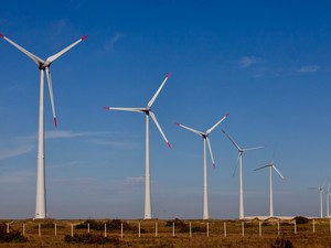 Energia Eólica RS (Foto: Claudio Fachel/Palácio Piratini )
