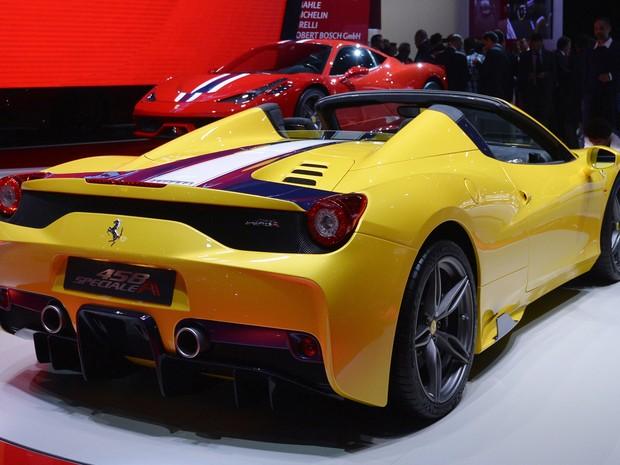 Ferrari 458 Speciale A (Foto: AFP PHOTO/MIGUEL MEDINA)