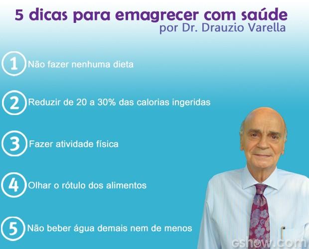 Dicas para emagrecer com saúde por Dr. Drauzio Varella (Foto: Mais Você / TV Globo)