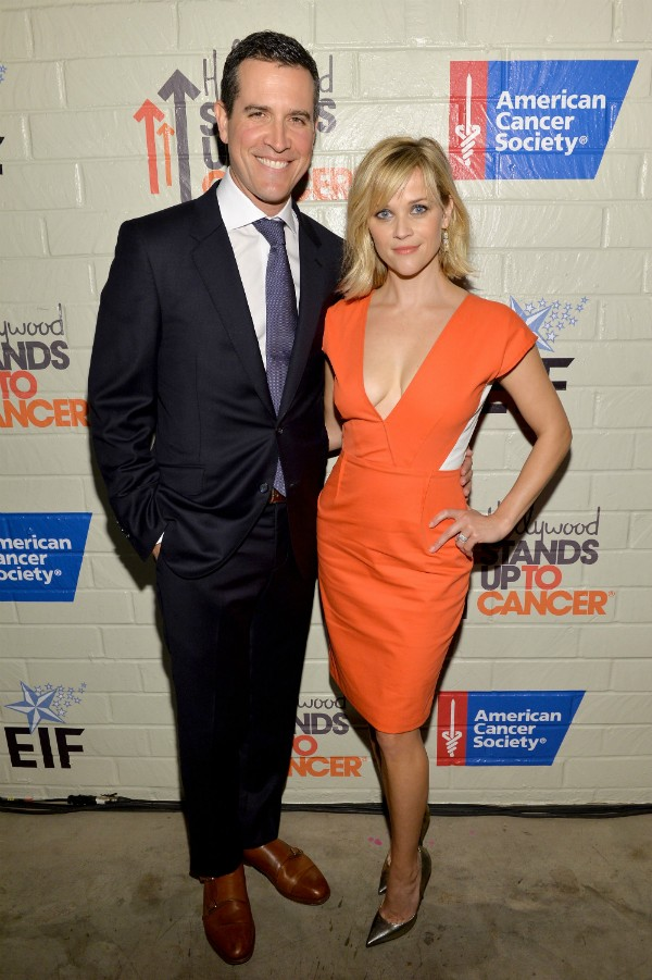 Reese Whiterspoon e seu marido, Jim Toth (Foto: Getty Images)