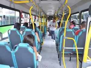 Ônibus circulam de graça em Vitória da Conquista Bahia 2 (Foto: Anderson Oliveira/Blog do Anderson)