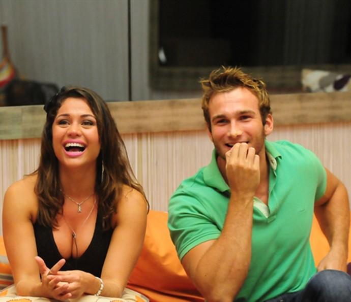 Finalistas do BBB11, Wesley e Maria viveram romance na casa (Foto: TV Globo)