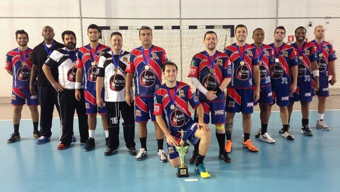 Handebol de Mogi das Cruzes Campeão Liga Paulistana (Foto: Reinaldo Barreiros)