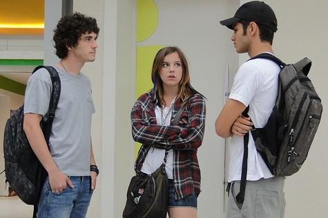 Elenco em cena de 'Malhação' (Foto: TV Globo)
