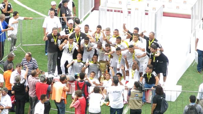 Santos Palmeiras sub-17 (Foto: Cássio Lyra)