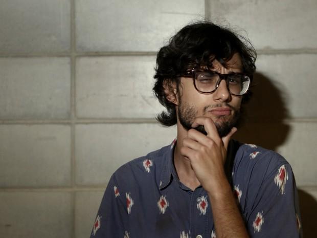 Ex-BBB Pedro após ser eliminado do BBB 17 (Foto: Marcos Serra Lima/ EGO)