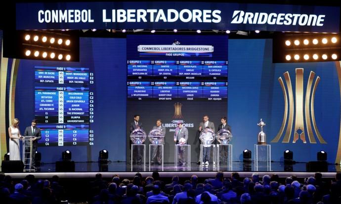 sorteio libertadores conmebol (Foto: REUTERS/Jorge Adorno)