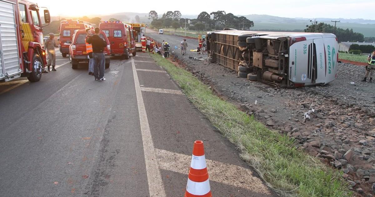 Polícia diz que vítimas graves após acidente no PR estavam sem cinto - Globo.com