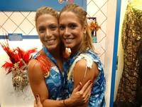 Bia e Branca na Sapucaí, carnaval (Foto: Jessica Mello/GloboEsporte.com)