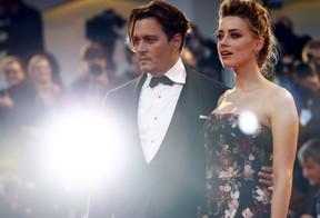 Amber Heard e Johnny Depp (Foto: Reuters)