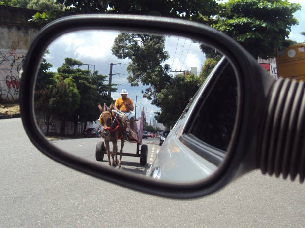 Carroceiros serão cadastrados pela Prefeitura de Belém (Foto: Thais Rezende/ G1 PA)