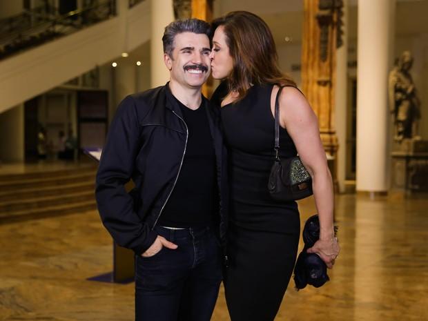 Jarbas Homem de Mello e Claudia Raia em estreia de peça em São Paulo (Foto: Manuela Scarpa e Marcos Ribas/ Brazil News)