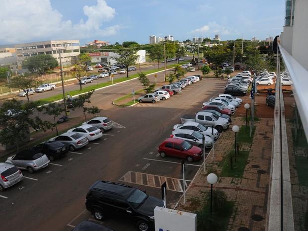 Estacionamento rotativo está funcionando desde o dia 2 de fevereiro (Foto: Valério Zelaya/ Prefeitura de Palmas)