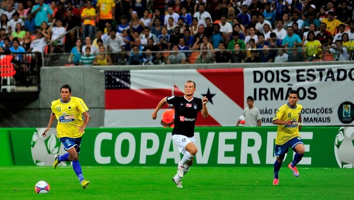 Nacional x Remo Copa Verde (Foto: Michael Dantas/Sejel)