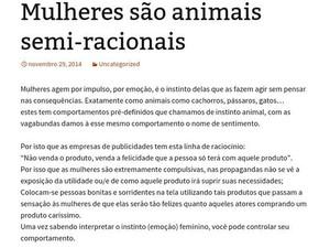 Posts de blog investigado pela PF pregam a discriminação e atos de violência (Foto: Reprodução)