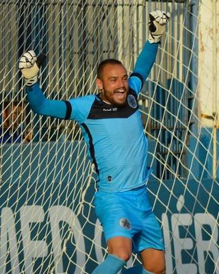 Goleiro Arthur é emprestado à Portuguesa-RJ até o fim da Série D (Foto: Marcos Faria)