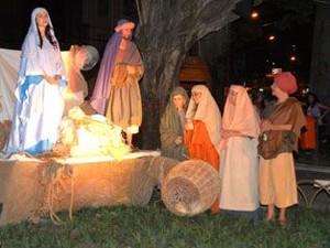 Auto conta a história de galo que anuncia o nascimento de Jesus (Foto: Divulgação/ PMV)