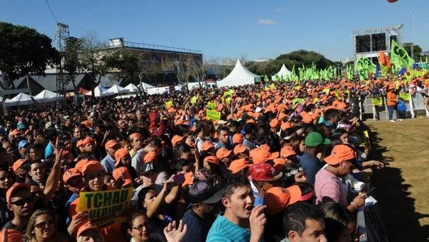 319e37c5e Força reúne trabalhadores em São Paulo para comemoração de 1º de ...