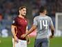 """""""Agora eu já não conto para nada"""", diz Totti após jogar 4 minutos contra Real"""