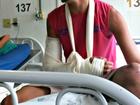 Suspeito de matar padrasto é preso ao ser atendido em hospital no Acre