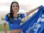 Musa do Gauchão: veja o ensaio da musa do Cruzeiro-RS