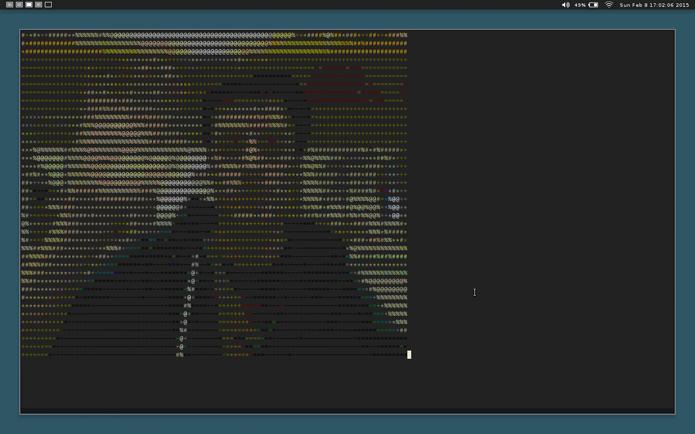 Software permite reproduzir vídeos em terminais de texto (foto: Reprodução/GitHub)