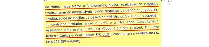 (editado) Parecer Comitê Ética São Paulo Página 14 (Foto: Arte: GloboEsporte.com)