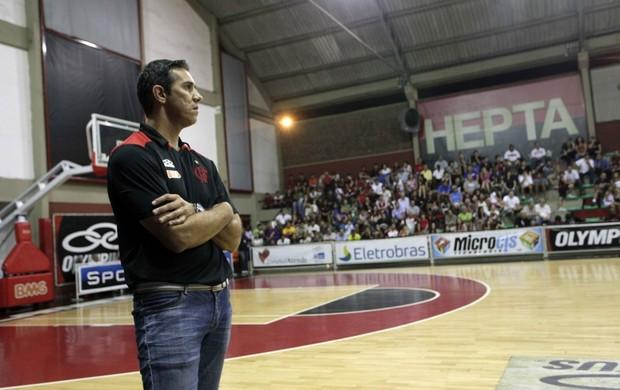 José Neto, técnico basquete flamengo (Foto: Divulgação/Flamengo)