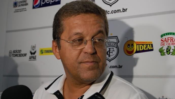 Josimar Barbosa, Joba, gerente de futebol do Treze (Foto: Silas Batista / Globoesporte.com/pb)
