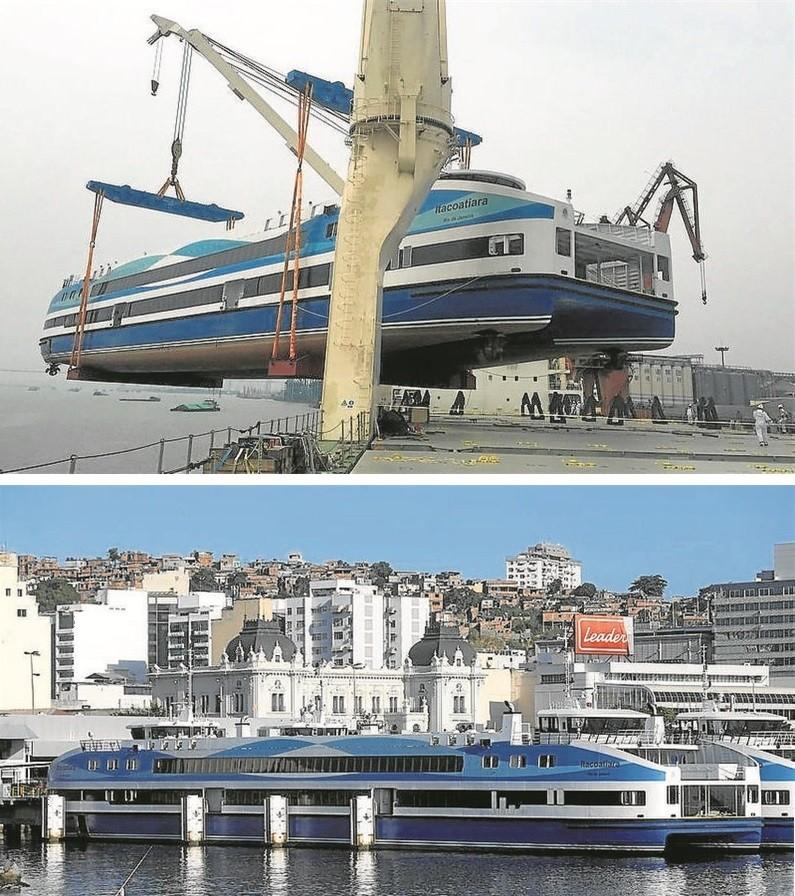 A superbarca Itacoatiara