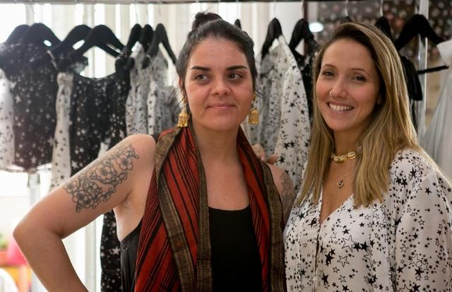 Nina Sander e Carol Glidden  (Foto: Divulgação)