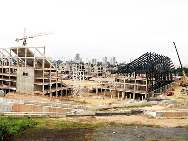 Arena Pantanal em Cuiabá (Foto: Divulgação/Secopa)