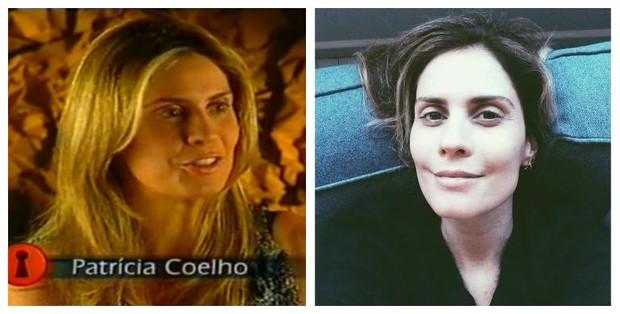 Antes e depois de Patrícia Coelho (Foto: Reprodução de Vídeo | Reprodução do Instagram)