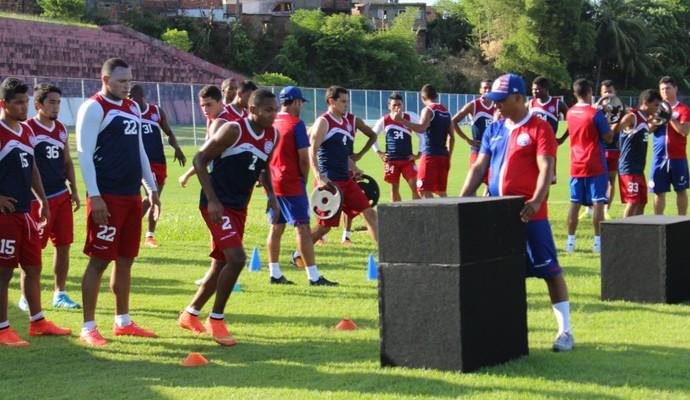 Bahia treino físico pré-temporada (Foto: Divulgação / EC Bahia)