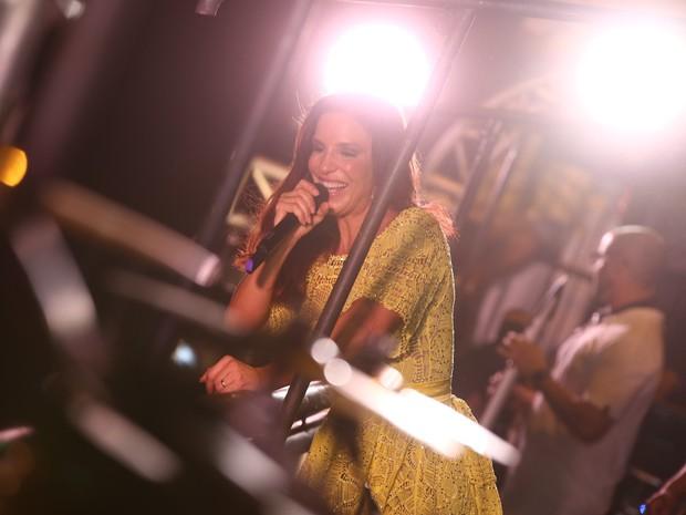 Ivete Sangalo se apresenta no Fortal (Foto: Alana Andrade/ Divulgação)