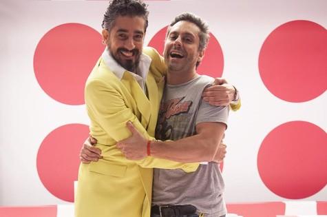 Michel Melamed e Alexandre Nero  (Foto: Débora 70)