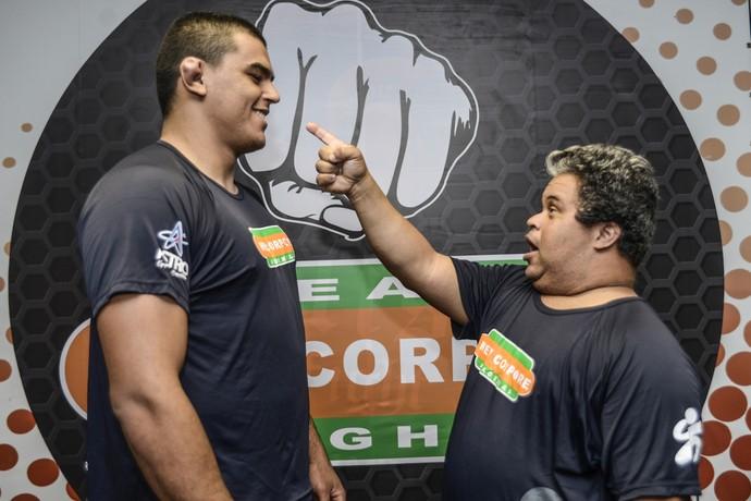 Gilberto Vilella e Alexandre Mucunda MMA Down (Foto: Divulgação)
