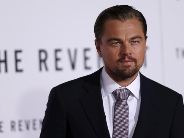 Leonardo DiCaprio em première em Los Angeles, nos Estados Unidos (Foto: Mario Anzuoni/ Reuters)