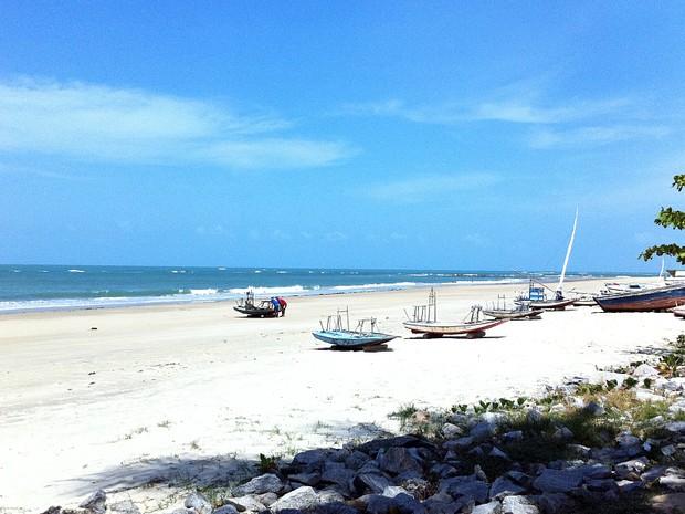 A praia de Flecheiras é um dos destinos mais indicados para quem procura belas paisagens e tranquilidade e boa estrutura.  (Foto: Gabriela Alves/G1)